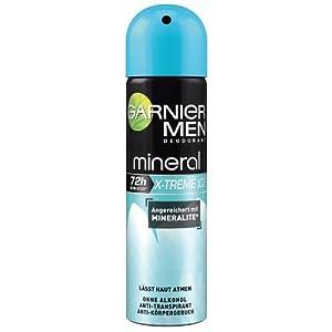 Garnier Mineral Men Xtreme Ice Deo Spray, 3er Pack (3 x 150 ml)