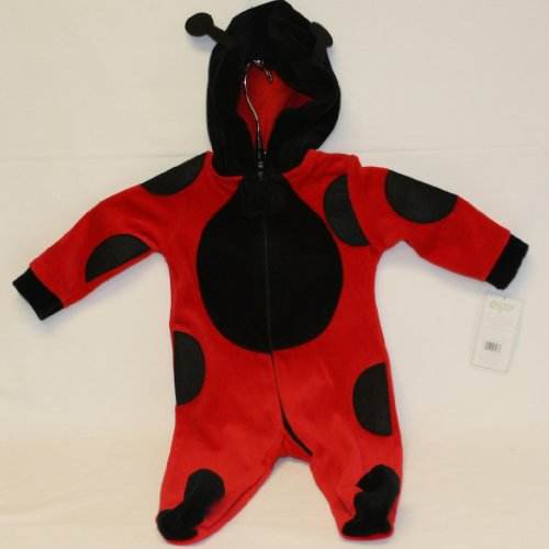 Baby Gear Infant Ladybug Sleeper (0-3M)