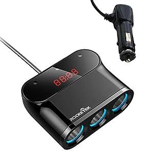 Rocketek Car USB Car Charger Splitter