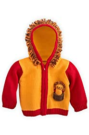 Joobles Organic Baby Cardigan Sweater - Roar the Lion