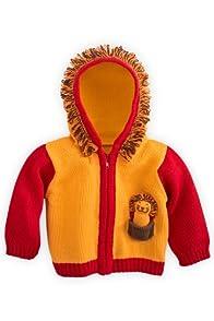 Joobles Organic Baby Cardigan Sweater - Roar the Lion