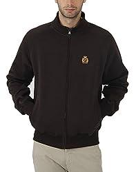 Fahrenheit Men's Fleece Sweat Shirt (8903942217937_Brown_X-Large)