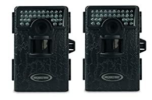 (2) MOULTRIE Game Spy Mini M-80XT Black Infrared Digital Trail Game Cameras 5MP