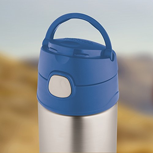 Thân Bình giữ nhiệt trẻ em Thermos 12 Ounce Funtainer Bottle, Blue - 350ml