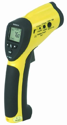 Reed St-8839 Infrared Thermometer, -50 To 1000 Degrees C, -58 To 1832 Degrees F, Accuracy Of + Or - 2% Of Reading