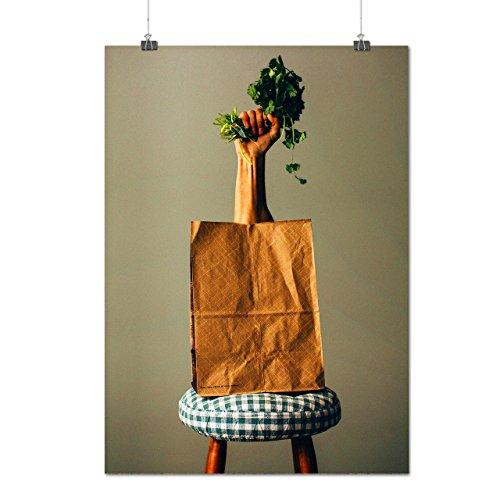 Eco Papier Sac sauvegarder Matte/Glacé Affiche A1 (84cm x 60cm) | Wellcoda