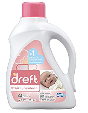 Dreft Liquid HE - 100 oz Bottle