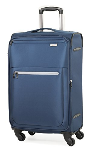 rock-liberty-70cm-lightweight-expandable-four-wheel-spinner-suitcase-navy