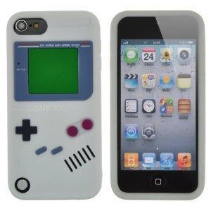 Apple ipod touch5専用 GAMEBOY ( ゲームボーイ ) ソフトカバー ホワイト