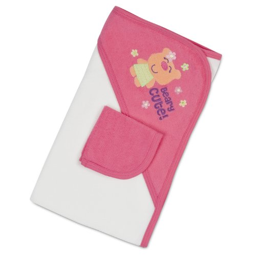 Gerber 2 Piece Bath Set, Pink - 1