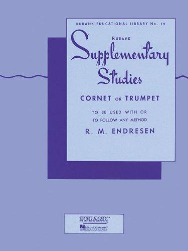 Supplementary Studies: Cornet or Trumpet (Rubank Educational Library) PDF