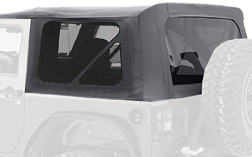 Smittybilt 9075235 Black Diamond Replacement Top with Tinted Side Windows for Jeep JK 2-Door (2015 Jeep Soft Top compare prices)