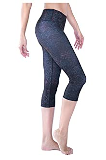 WITH Women's Capris Lace Confession Black