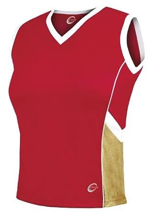 Aero Metallic Uniform Shell Top by Chasse