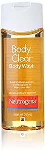 Neutrogena Body Clear Body Wash, 8.5 Fluid Ounce (Pack of 6)