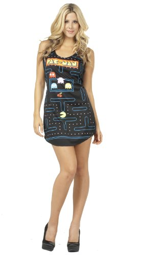 Pac Man Video Game Screen Costume Tank Dress