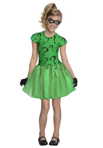 Little Girls' Riddler Tutu Costume Medium