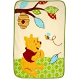 Disney Baby Pooh and Friends Luxury Plush Throw 30 X 45