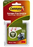 Command Poster Adhesive Value Pack, 48-Strip
