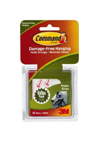 Black Friday 2013 Command Poster Adhesive Value Pack, 48-Strip
