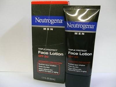 Neutrogena Men Triple Protect Face Lotion Spf 20 17 Oz from Johnson & Johnson