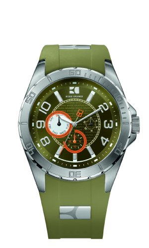 HUGO Boss Para Hombres-reloj analógico de cuarzo silicona 1512813