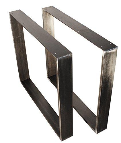 Untergestell f r tischplatten im retro vintage design for Wohnzimmertisch industriedesign