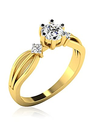 Friendly Diamonds Anillo FDR8714Y (Oro Amarillo)