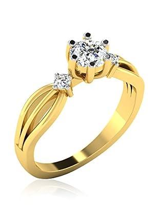 Friendly Diamonds Anillo FDR8714Y (Oro Amarillo)
