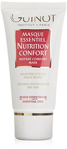 Guinot Masque Essentiel Nutrition Confort Instant Comfort Maschera Facciale, Pelle Secca - 50 ml