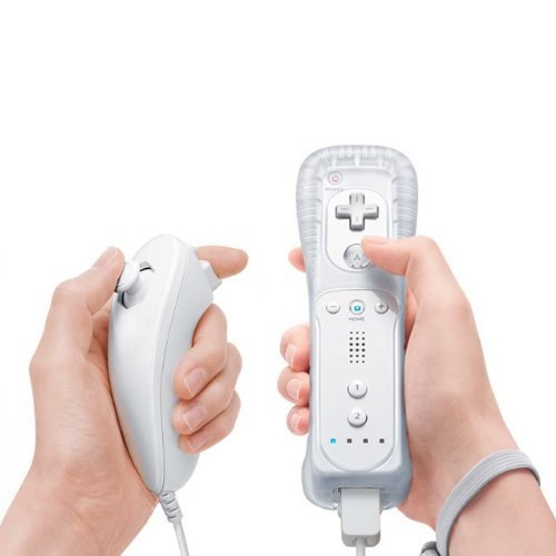 Nunchuk & Remote Game Controller Bundle for Nintendo Wii at Amazon.com