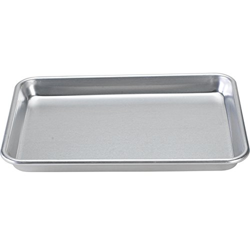 Nordic Ware Natural Aluminum Commercial Baker's Quarter Sheet (Quarter Sheet Jelly Roll Pan compare prices)