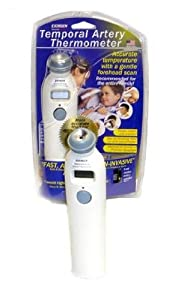 Exergen Temporal Artery Thermometer MODEL# TAT-2000C, Pack of 2