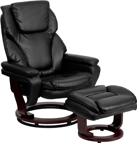 Swivel Recliner With Ottoman front-427310