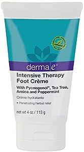 Derma E Natural Body Care Intensive Therapy Foot CrÚme - 4 oz