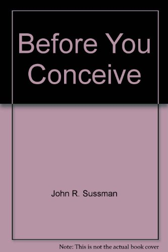 Before You Conceive PDF