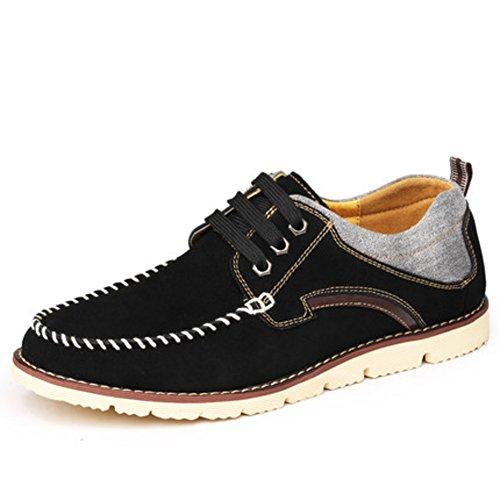 scarpe casual da uomo/scarpe ascensore/scarpe da uomo in pelle scamosciata di uomini è aumentato dello stealth all'interno-D Lunghezza piede=24.3CM(9.6Inch)