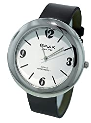 Omax Analog White Dial Unisexs Watch - TS438