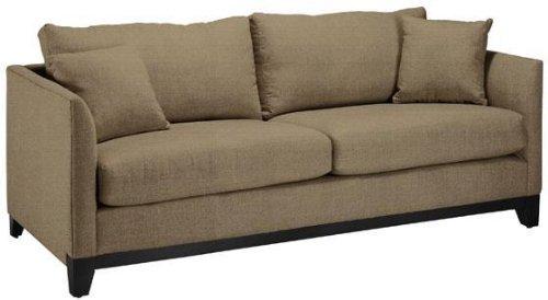Dulaney Sofa, SLEEPER, TEXT SOLID TAN