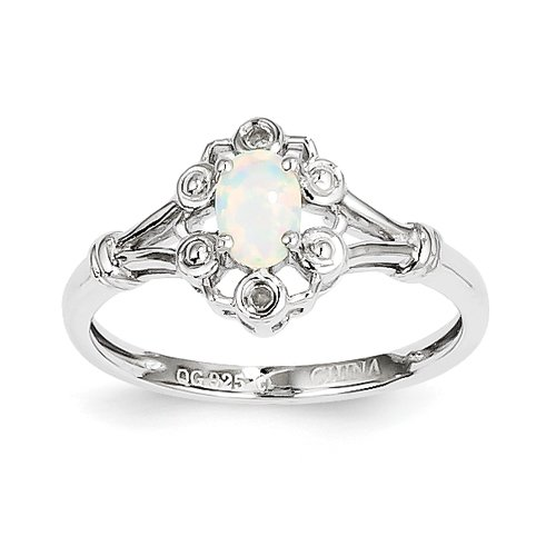 Black Opal Wedding Rings