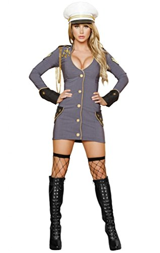 Sexy World War Z Military General Halloween Costume