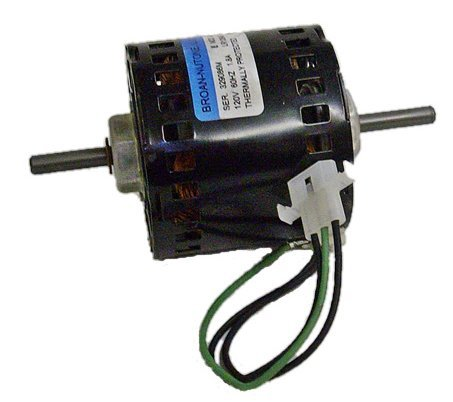 Broan 363, 383 Replacement Vent Fan Motor # 99080152, 1.8 Amps, 1650 Rpm, 120 Volts