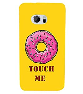 Touch Me Cute Fashion 3D Hard Polycarbonate Designer Back Case Cover for HTC 10 :: HTC One M10