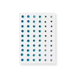 Martha Stewart Crafts Stickers, Blue Ombre Gemstones