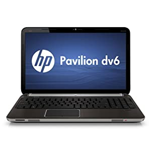 HP Pavilion DV6-6090us Gaming and Entertainment 15.6-Inch Laptop (Black)