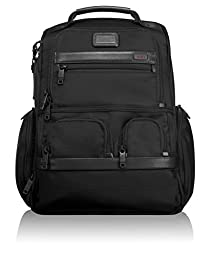 Tumi Alpha 2 Compact Laptop Brief Pack, Black, One Size