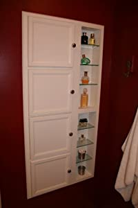 Amazon.com: (SS-1) Recessed in wall storage cabinet, Solid