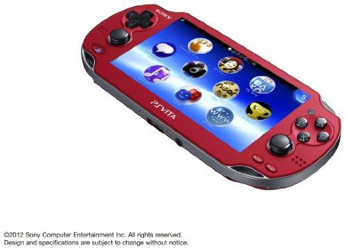 PlayStationVita Wi-Fiモデル コズミック・レッド (PCH-1000 ZA03)