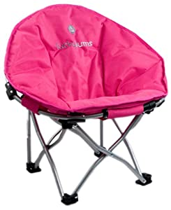Lucky Bums Youth Moon Camp Chair, Large, Pink