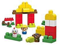 Mega Bloks First Builders Barnyard Buddies Building Set